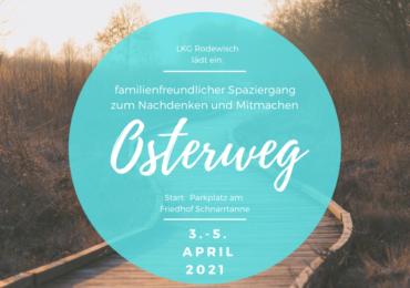Osterweg 2021