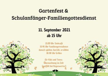 11.09.2021   Gartenfest